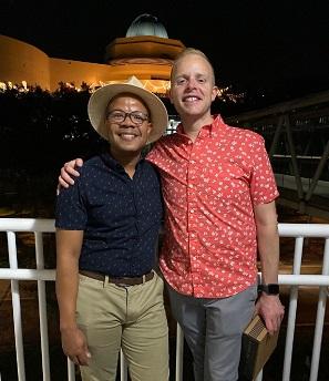 , David and Kevin